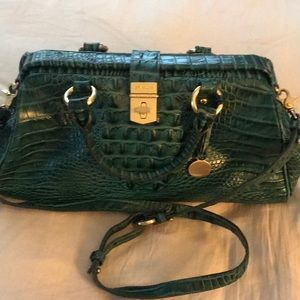 Authentic Brahmin alligator handbag